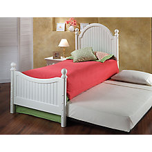 Post Bed Set - Twin - w/Rails, 8819068