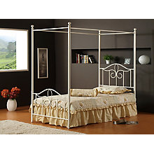 Canopy Bed Set - Twin- w/Rails, 8819047