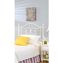 Metal Headboard - Twin - w/Rai, 8819061