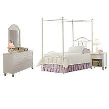 Canopy Bed - Twin, Rails, Nigh, 8819042