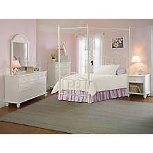 Canopy Bed - Twin, Rails, Nigh, 8819043