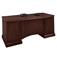 Belmont Bow Front Executive Desk, DMI-7130-36