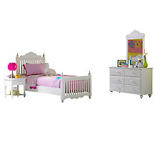 Bed - Twin, Nightstand, Dresse, 8817918