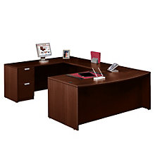 Executive Bow Front U-Desk, OFG-UD1068