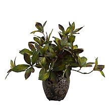 "10""H- Peoniy Foliage Jar, 8822845"