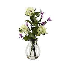 "16.5""H- Violet Vase Display, 8822838"