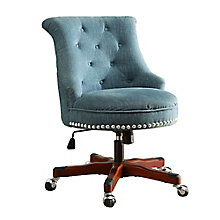 Sinclair Armless Fabric Office Chair, 8805173