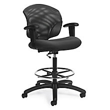 Tye Mesh Back Drafting Stool, 8814290