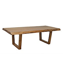 "Live Edge Coffee Table - 48""W, 8804834"