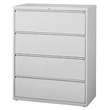 "Dimensions Four Drawer Lateral File - 42"" W, 8804223"