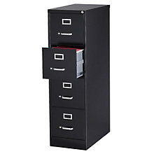 "Dimensions Four Drawer Letter Sized Vertical File - 25""D, 8804231"