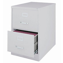 "Dimensions Two Drawer Legal Sized Vertical File - 26.5""D, 8804233"