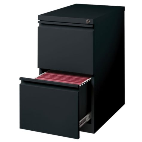 Drawer shown open in Black