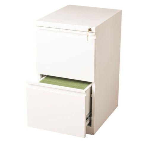 Drawer shown open in White