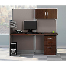 Straight Workstation w/Storage, 8828272