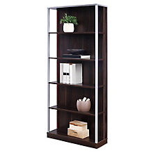 "Compass 72""H Five-Shelf Bookcase , 8827993"