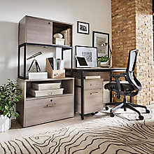 "Structure Compact Office Suite - 48""W Desk, 8828257"