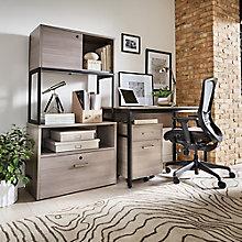 "Structure Compact Office Suite - 48""W Desk, 8828257"