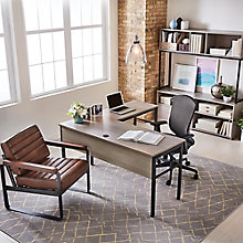 "Structure L-Desk Suite - 60""W x 60""D Desk, 8828258"