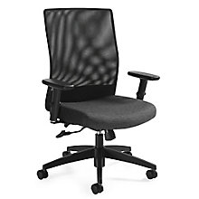 Weev Mesh Back Ergonomic Chair with Back Tilt, 8814293