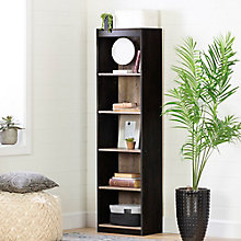 5-Shelf Narrow Bookcase, 8828968