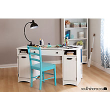Craft Table with Storage, 8828974