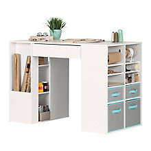Counter-Height Craft Table, 8828977