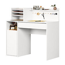 Craft Table with Hutch, 8828978