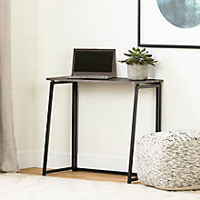 Industrial Fold Computer Desk, 8828982