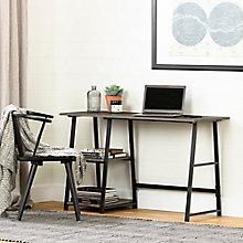 Industrial Desk with Storage, 8828983