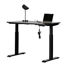 Adjustable Height Standing Desk with Power Bar, 8828998