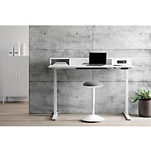 Adjustable Height Standing Desk with Built In Power Bar, 8829010