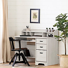 Computer Desk with Hutch, 8829036