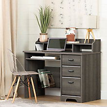 Computer Desk with Hutch, 8829037