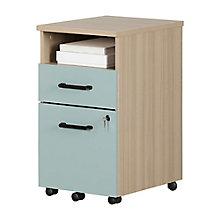 2-Drawer Mobile File Cabinet, 8829042