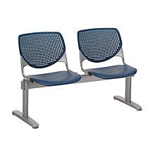 Kool Polypropylene Two Seat Beam Seating, 8814358