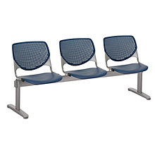 Kool Polypropylene Three Seat Beam Seating, 8814359