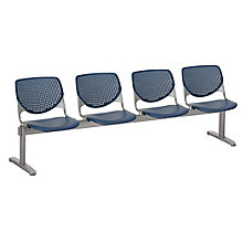Kool Polypropylene Four Seat Beam Seating, 8814360
