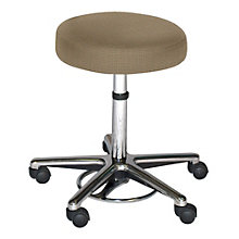 Helix Hands-Free Stool in Fabric or Faux Leather, HIG-10905