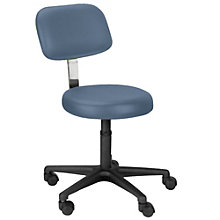 Encompass Task Stool with Lumbar Support in Vinyl, LFG-10921