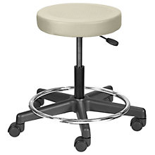 Encompass Task Stool with Footrest in Vinyl, LFG-10925