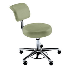 Hands-Free Foot-Activated Stool in Fabric or Vinyl, KRU-10914
