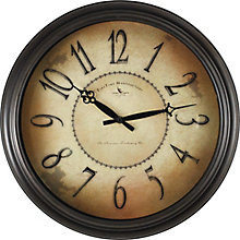"Distressed Wall Clock - 18"", 8813482"