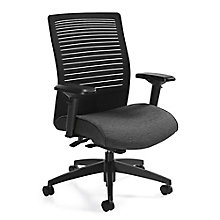 Loover Medium Back Weight Sensing Synchro-Tilt Chair, 8814296