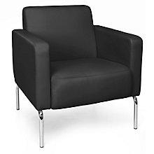 Triumph Guest Chair with Chrome Legs in Polyurethane, 8814105