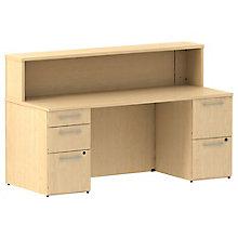 Reception Double Pedestal Desk, 8825709