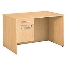 Desk with 3/4 Pedestal 48W , 8825711