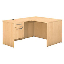 Desk,  Return & 3/4 Pedestal 48W , 8825712