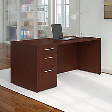 Desk and 3 Drawer File 66W , 8825716