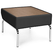 Triumph Laminate Side Table with Chrome Legs in Polyurethane, 8814106